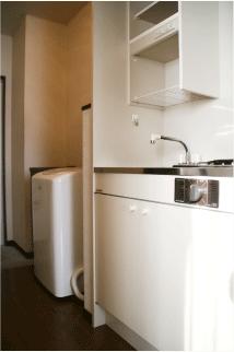 コーポK キッチン・洗濯機