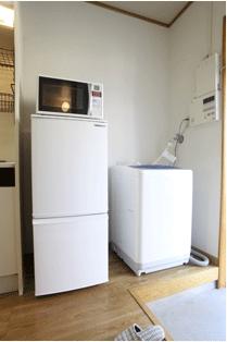 エスポワール岩上 冷蔵庫・レンジ・洗濯機
